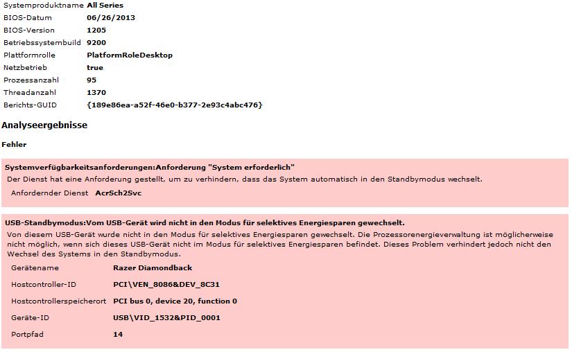 standby modus deaktivieren windows 8
