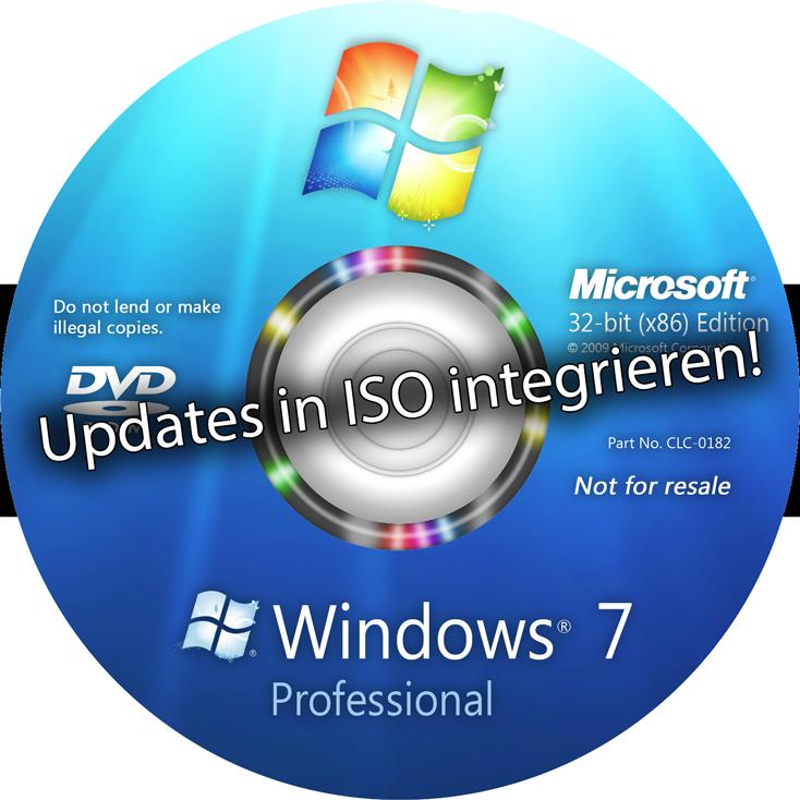 updates in windows 7 cd integrieren 64bit. Black Bedroom Furniture Sets. Home Design Ideas